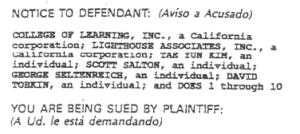 Image of lawsuit opening block